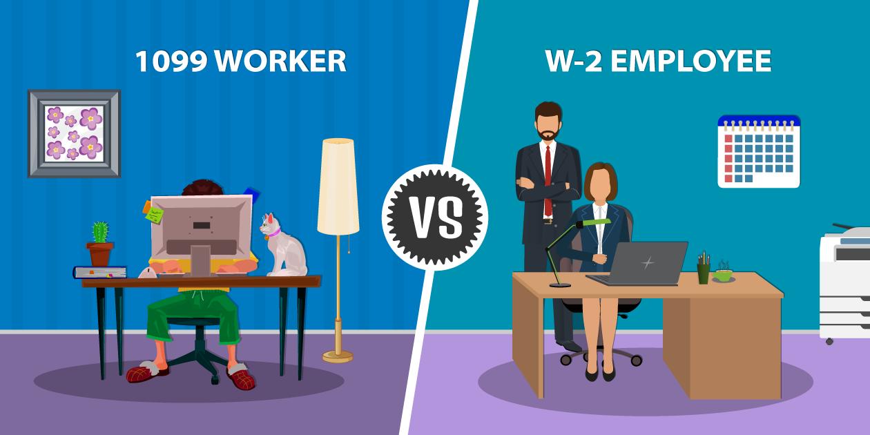 1099 Worker vs. W-2 Employees under California Law