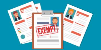 Exempt Employee California
