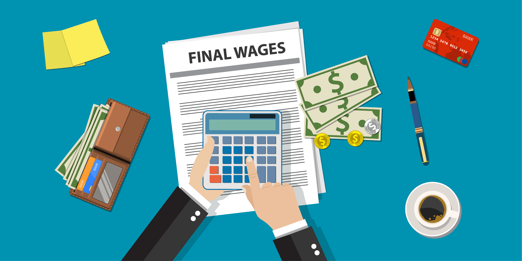 Waiting Time Penalty for Final Wages in California
